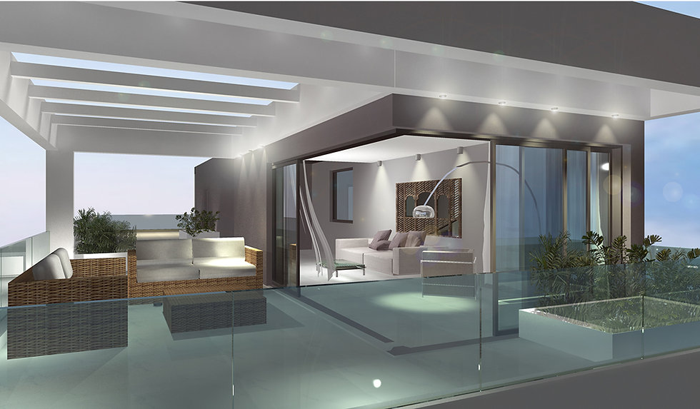 Penthouse remodelling Voula, Greece