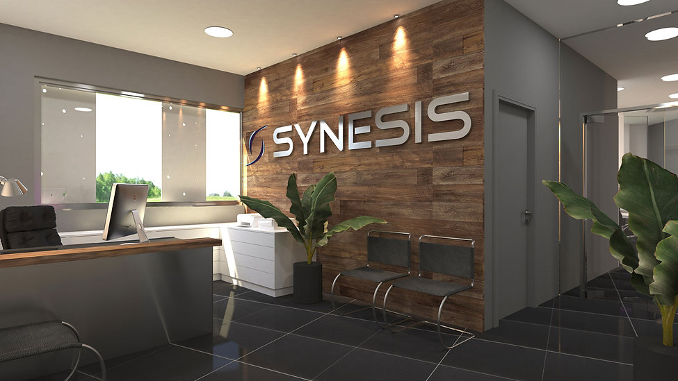 Synesis Aviation offices design proposal.