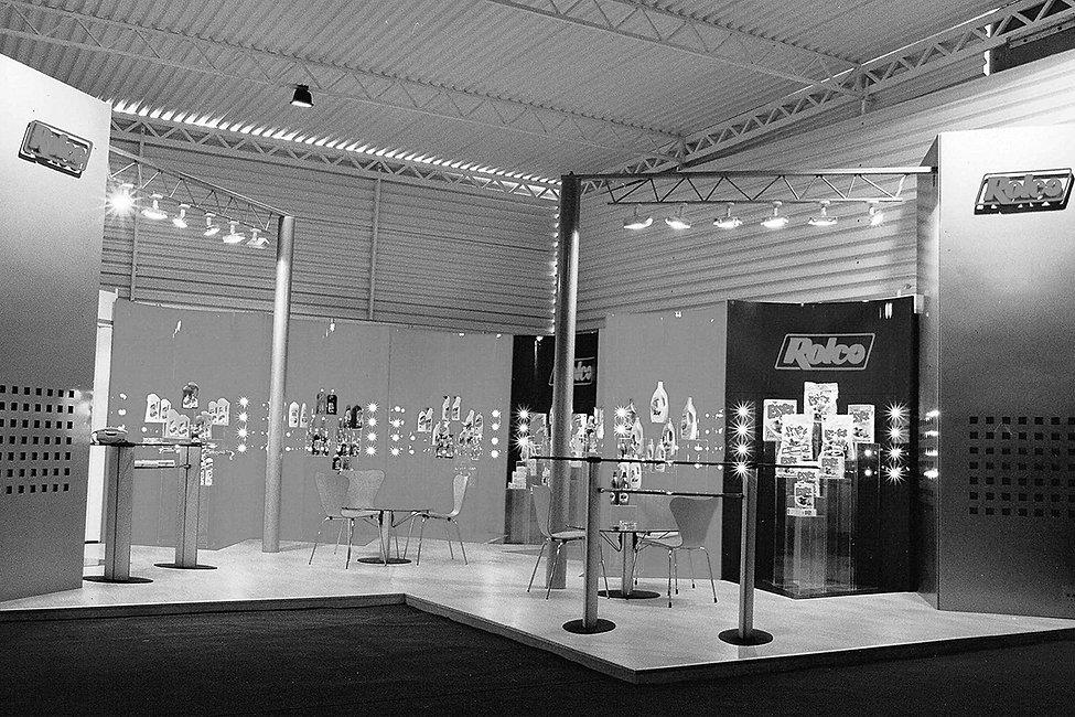 Rolco SA exhibition kiosk 1998