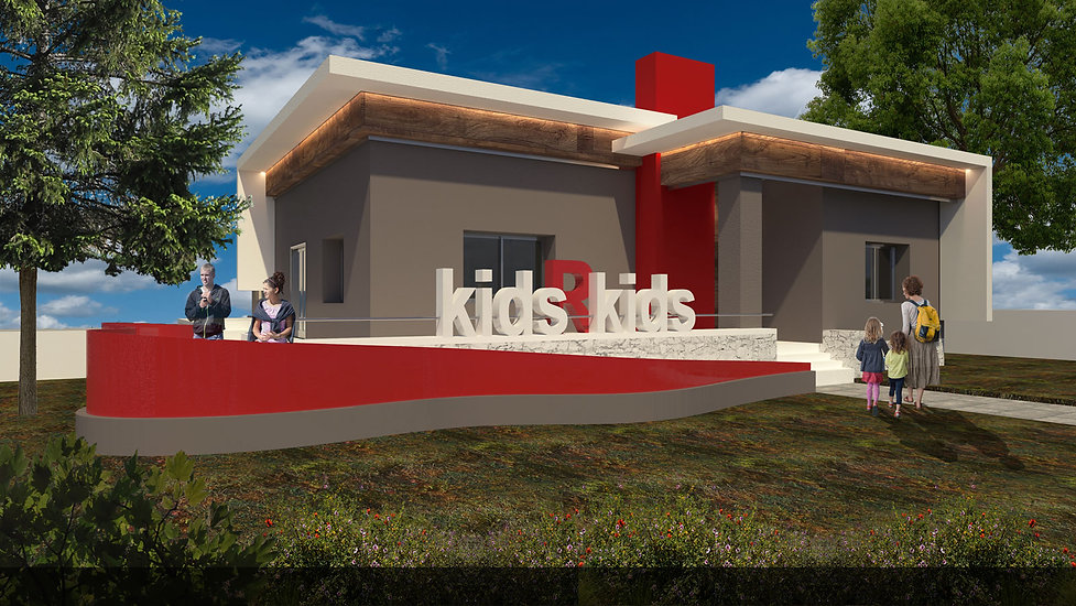Εξωτερικη προταση για παιδικο σταθμο - νηπιαγωγειο στην Κηφισια.