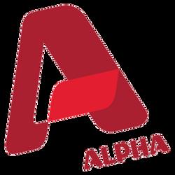 alpha channel logo