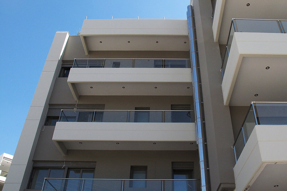 Apartment complex in Athens