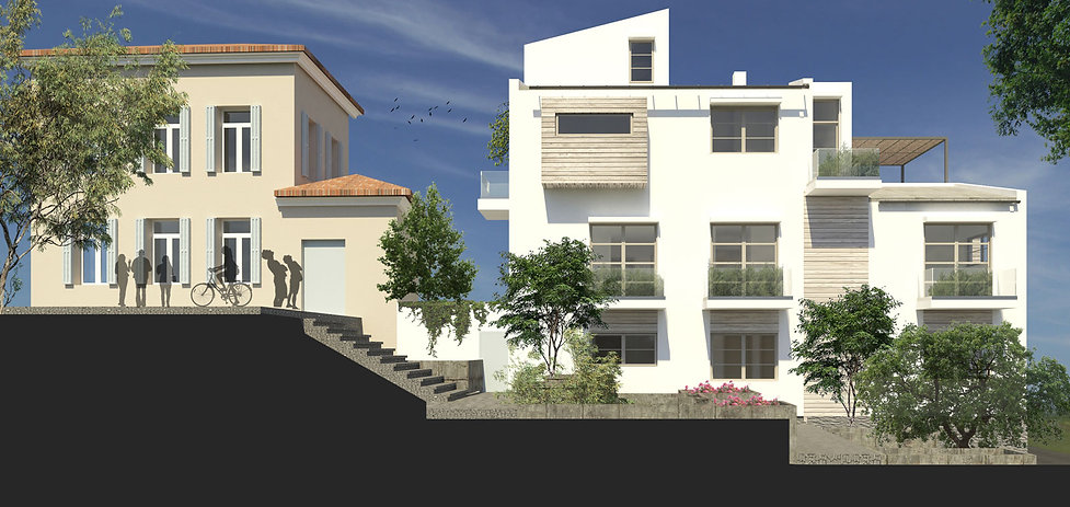 Αρχιτεκτονικη προταση συγκροτηματος στην Αθηνα.