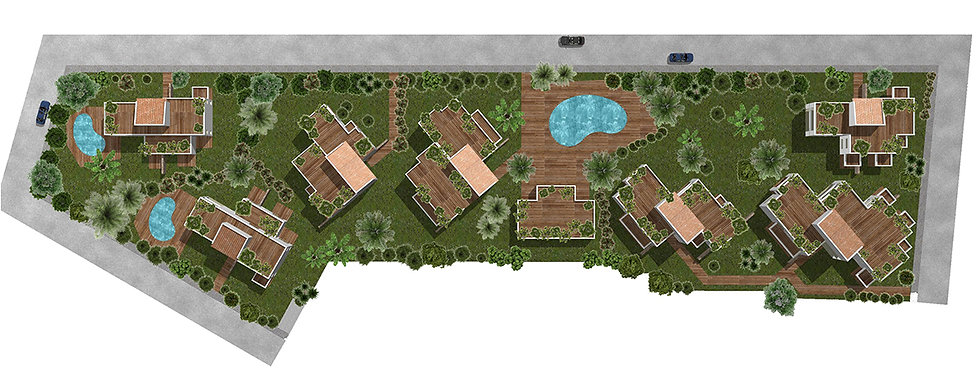 Masterplan for a residential complex