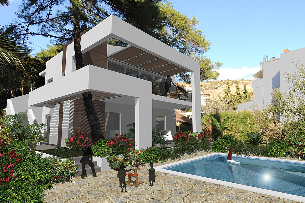 Proposal for a private residence in Vouliagmeni