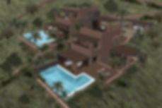 3D render of a summer home proposal