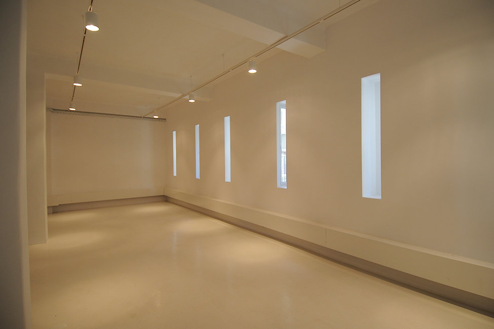Gallery space in downtown Athens