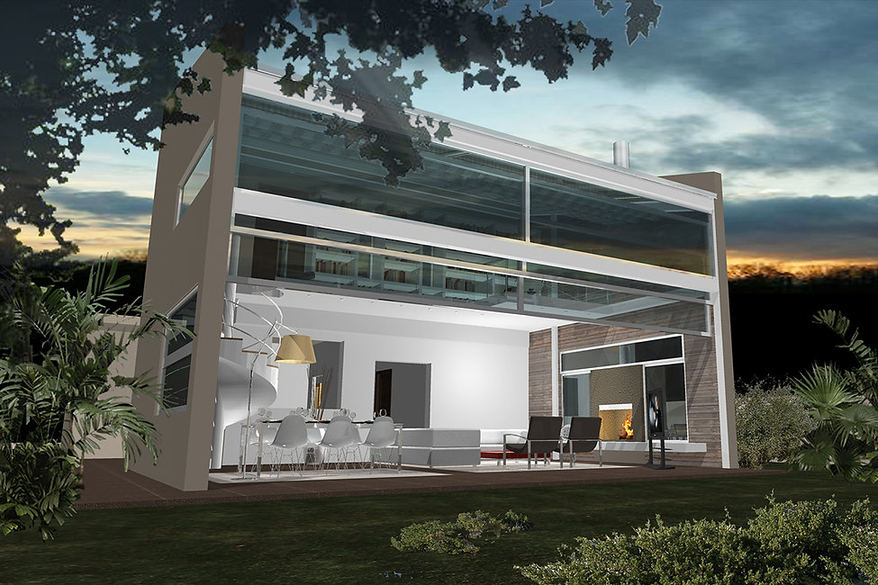 House extension proposal in Glyfada