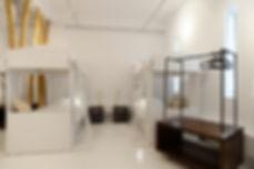 Studio design with bunkbeds