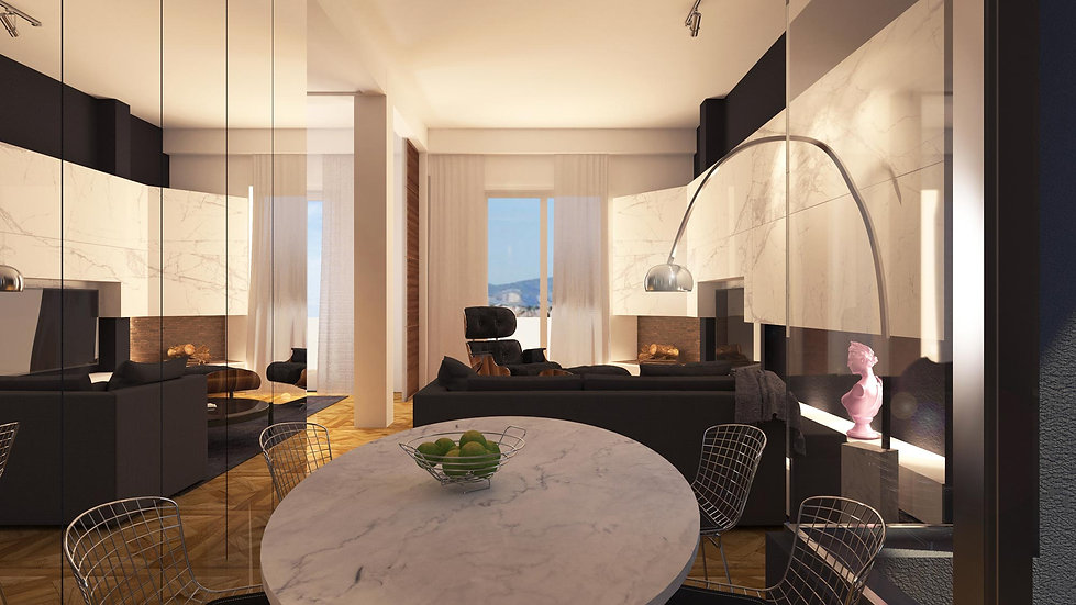 Living and dining room redesign proposal