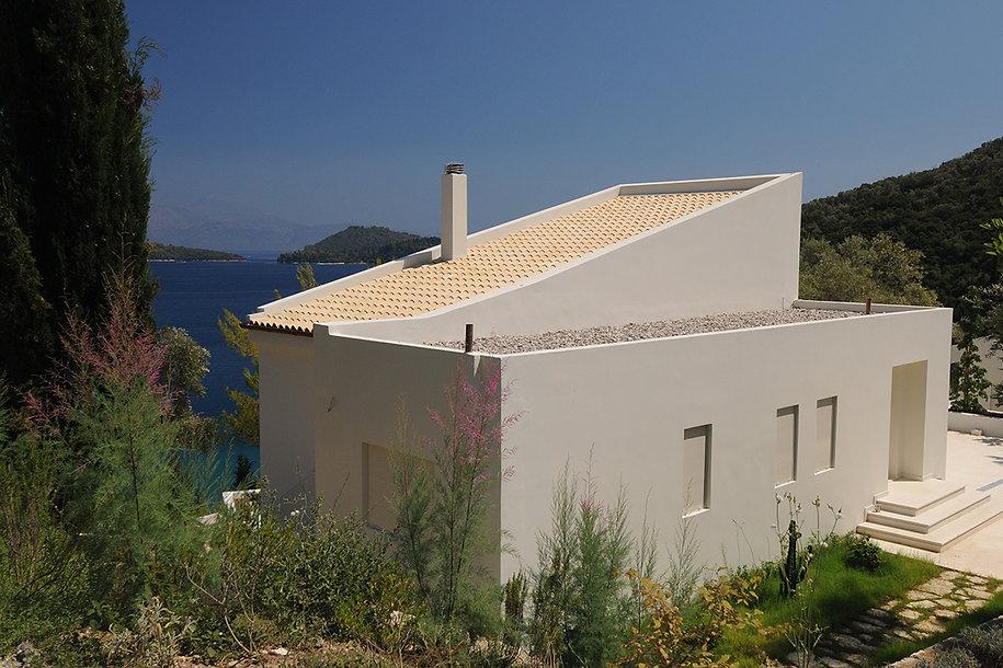Summer home by the seaside in Lefkada Greece