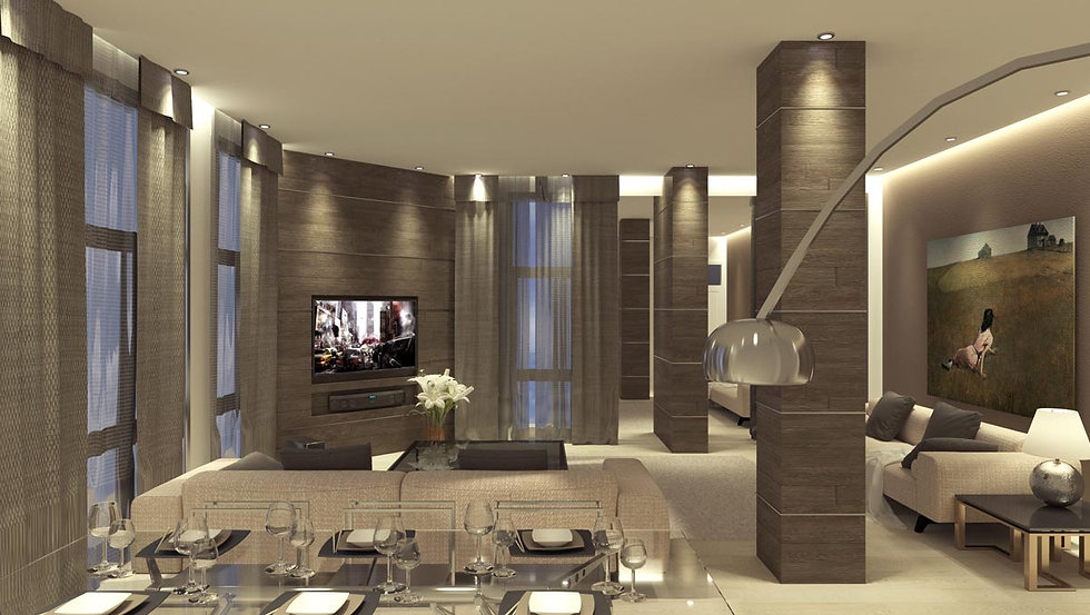 Luxurious suites in Athens.