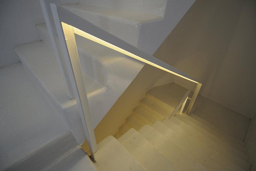 Λεπτομερεια εσωτερικης σκαλας