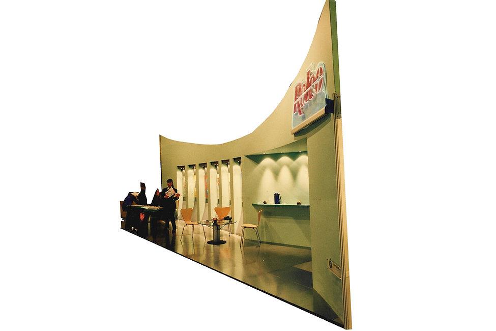 Εκθεσιακο περιπτερο της Rolco στην εκθεση Xenia 1996