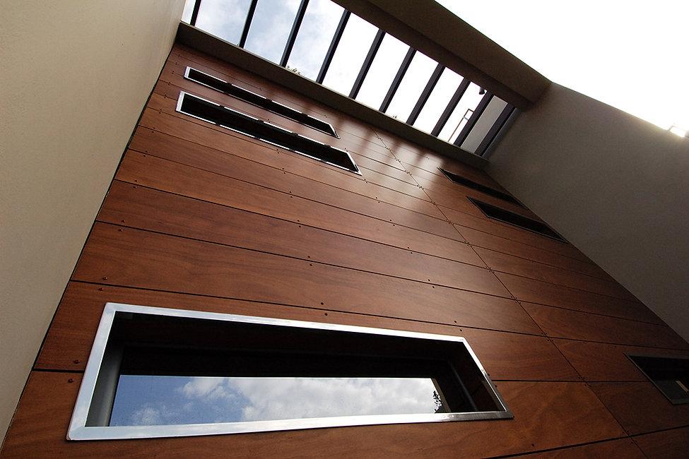 Timber facade design