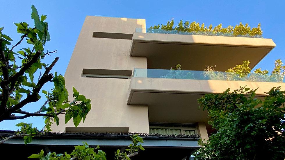 Apartment complex block in Glyfada