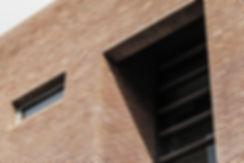 Brick facade detail