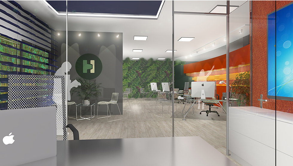 Modern office design proposal in Greece