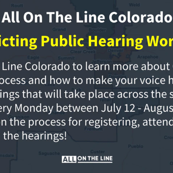 Redistricting Public Hearing Workshops