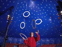 Hoops no circo