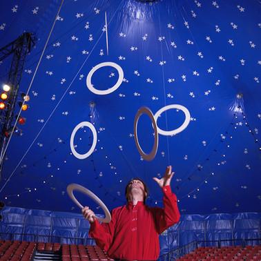 Hoops at the Circus