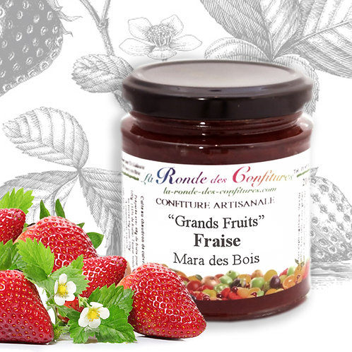 "FRAISE MARA DES BOIS ""GRANDS FRUITS"" 220 g"