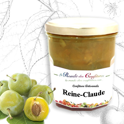 CONFITURE DE REINE-CLAUDE     370 g