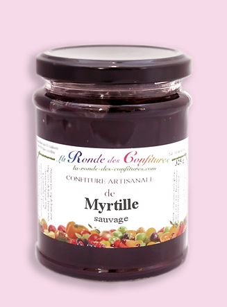 CONFITURE MYRTILLE SAUVAGE 325 g
