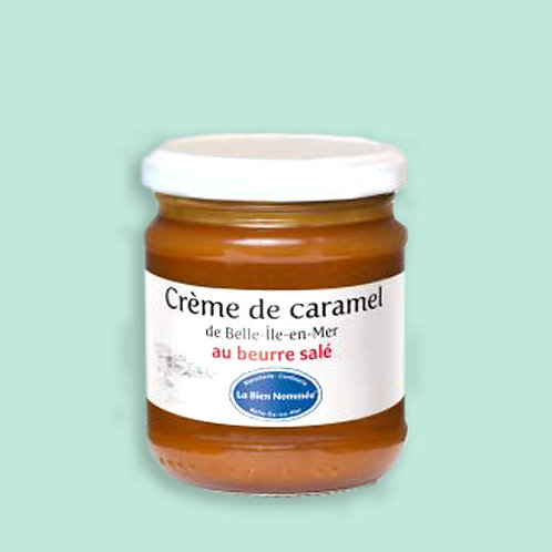 CRÈME DE CARAMEL AU BEURRE SALÉ DE BELLE-ÎLE  220 g