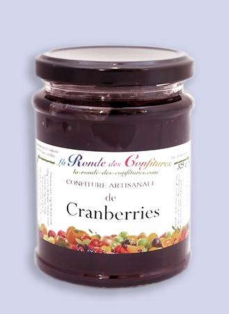 CONFITURE CRANBERRIES 325 g