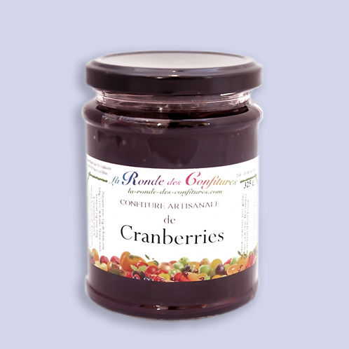 CONFITURE CRANBERRIES 325 g
