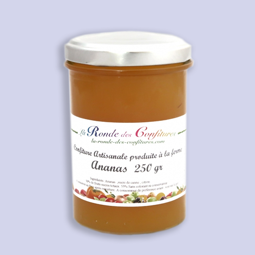 CONFITURE D'ANANAS 250 g