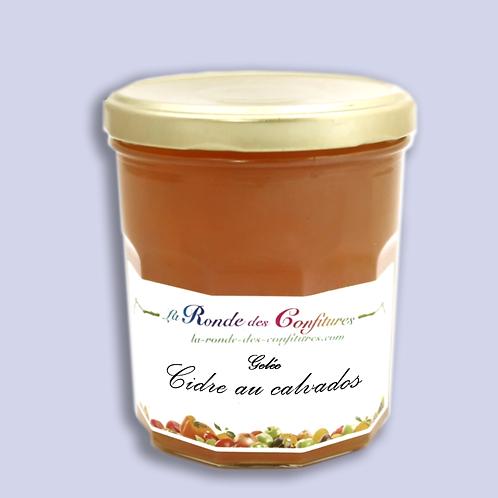 GELÉE DE CIDRE AU CALVADOS 370 g