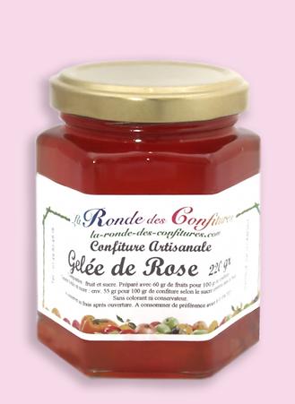GELÉE DE ROSE 220 g