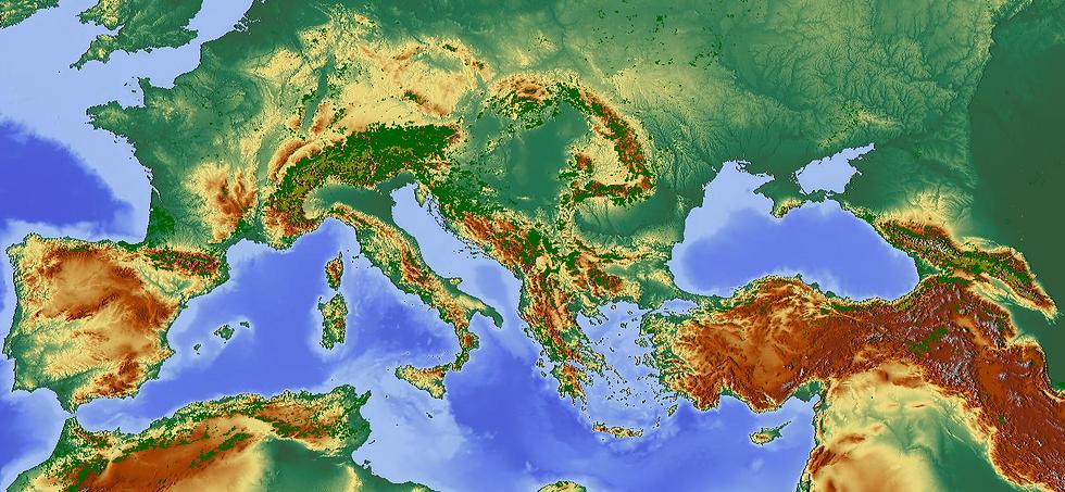 map destinations Apollon Tours