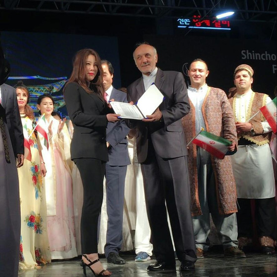 Iranian cultural night's fashion show with Lavinu!