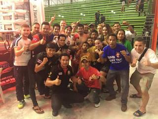 Thaiföld edzőtábor 2016
