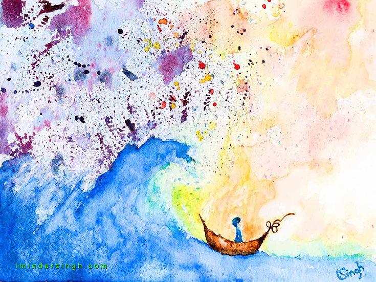 The Boat of Guru Nanak