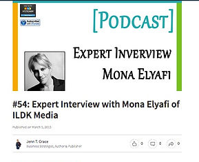 Mona Elyafi Podcast