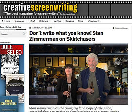 Skirtchasers for the Creative Screenwriting