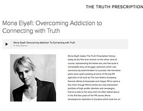 Mona Elyafi for the Truth Prescription
