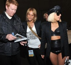 Lady Gaga and Mona Elyafi
