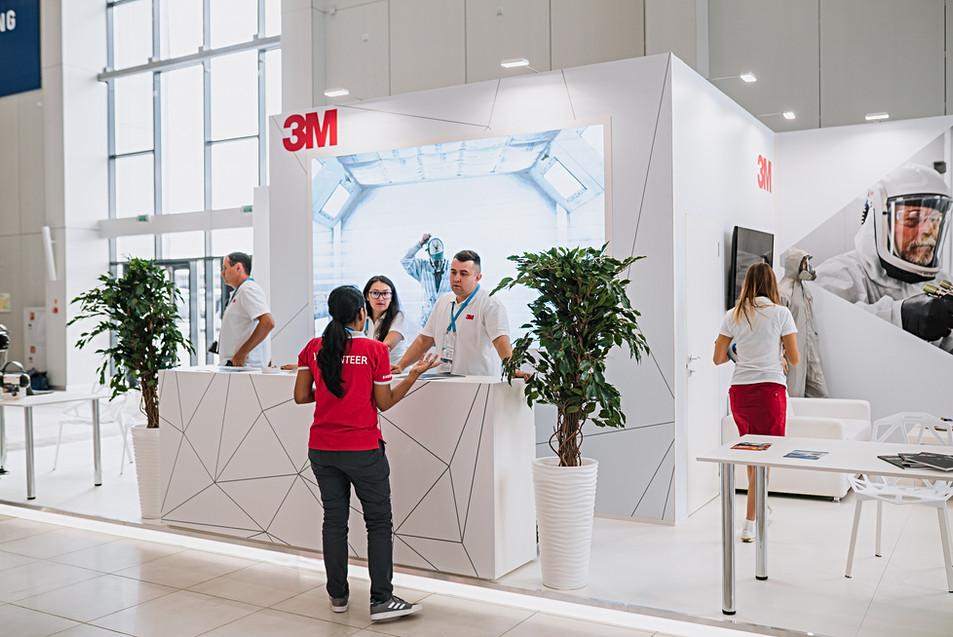 "Exhibition stand ""3M"" / World Skills Kazan 2019"