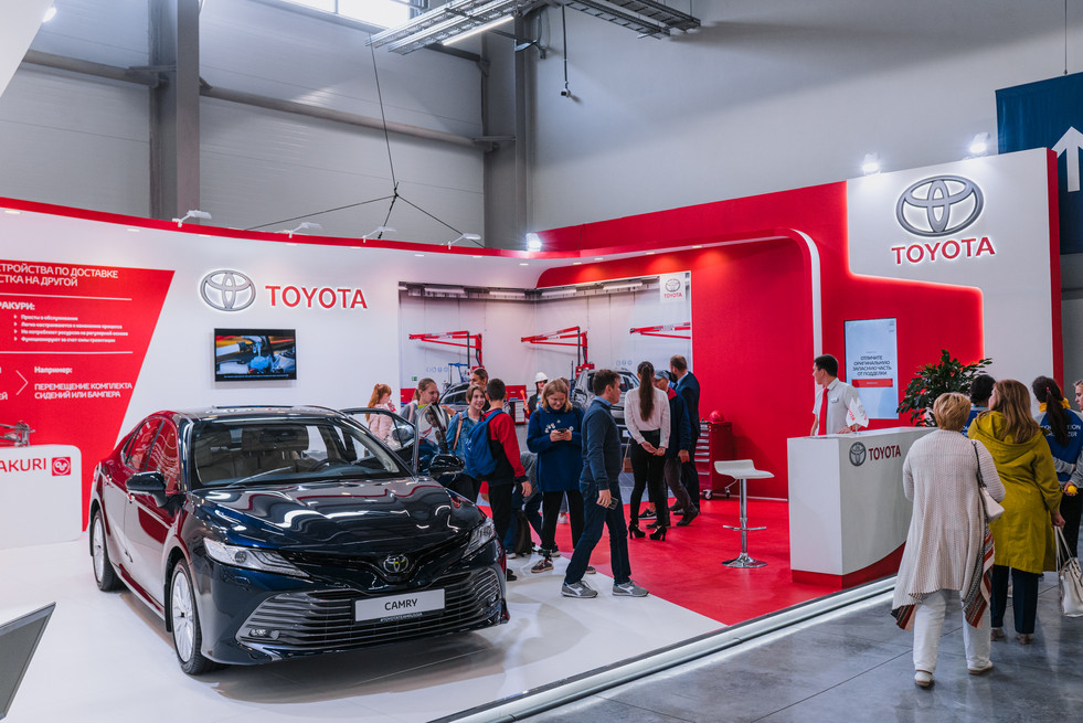 """Stand of """"Toyota"""" / World Skills Kazan 2019"""