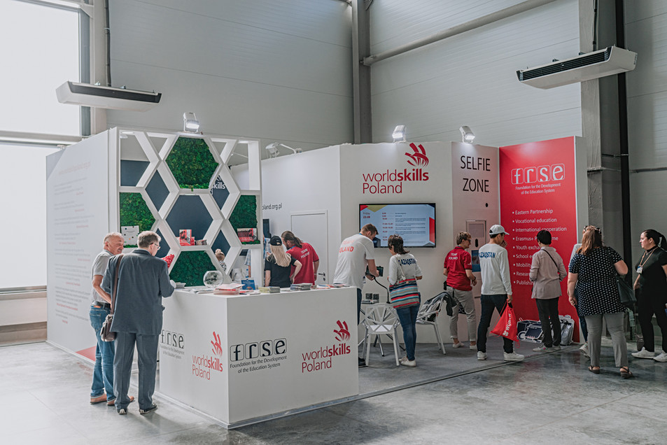Exhibition stand of Poland / World Skills Kazan 2019