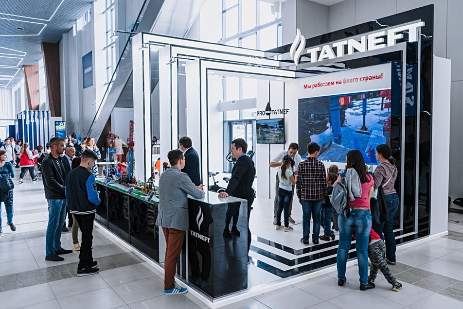 "Exhibition stand of ""Tatneft"" / World Skills Kazan 2019"