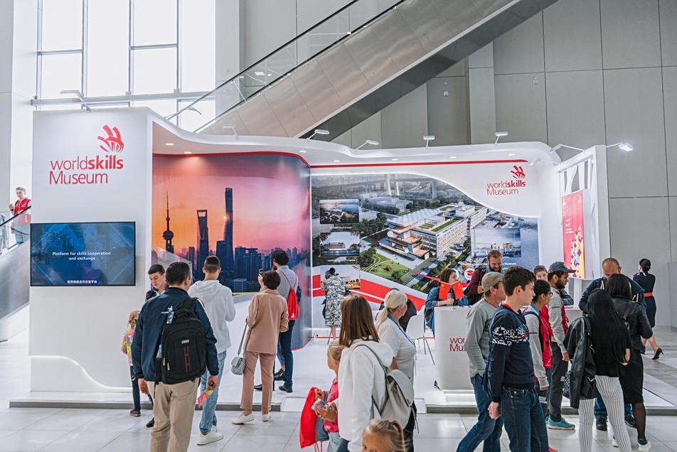 World Skills Shanghai exhibition booth  / World Skills Kazan 2019