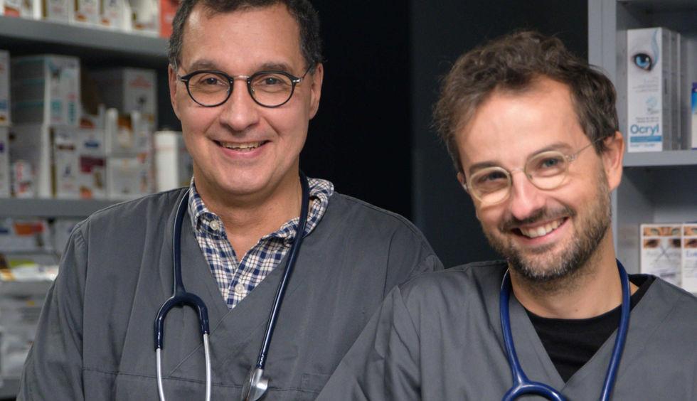 Nos vétérinaires Dr Roche-Naude et Dr Chefneux