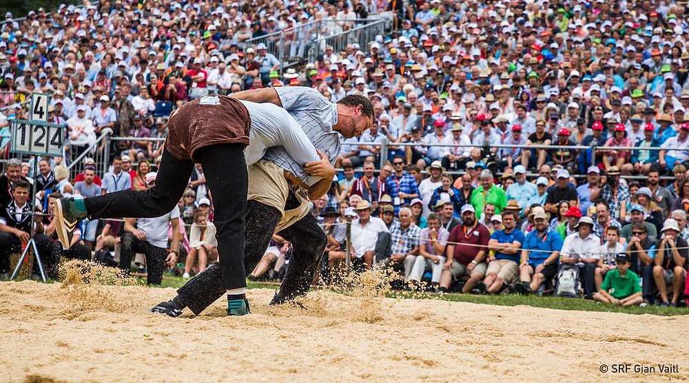 Federal Wrestling and Alpine Festival © SRF Gian Vaitl