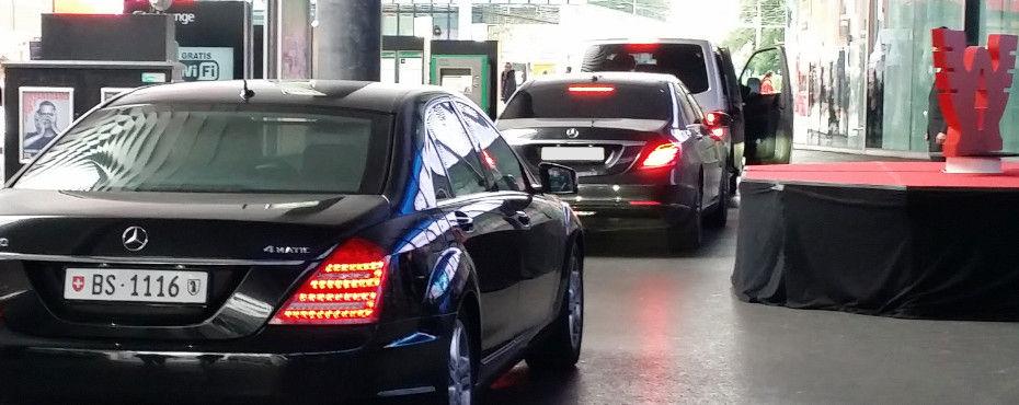 Luxurious limousine service for Art Basel.